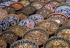 Tunisian pottery from Nabeul.