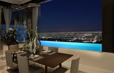 Dining room with the view