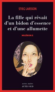 """#CybookLecture de Laure G """"je pense commencer Millenium 2...Bon week-end de Pâques !!!"""" #VendrediLecture Millénium 2 - La fille qui rêvait d'un bidon d'essence et d'une allumette de Stieg Larsson"""