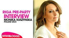 Interview: Monika Kuszyńska (Poland 2015) Eurovision Pre-Party Riga 2015...