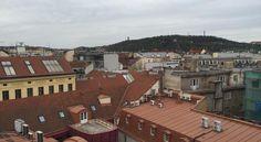 Cosmopole Hostel, www.cosmopoleprague.upps.cz, Das Cosmopole Hostel empfängt Sie in Prag im Bezirk Prag 01, nur 700 m vom Wenzelsplatz entfernt. Die Unterkunft verfügt über eine 24-Stunden-Rezeption. Darüber hinaus gibt es einen Gemeinschaftsbereich in der 5. Etage mit einer Gemeinschaftsküche und einem Loungeraum sowie einen Frühstücksraum und eine große Terrasse mit Aussicht auf Prag.