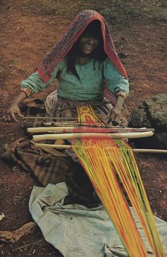 myrootsgrowdown:    ofnationalgeographic:    National Geographic, June 1977    weaving all around the world