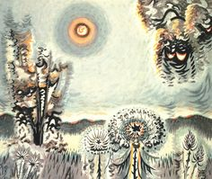 Charles Burchfield, queen Ann's Lace