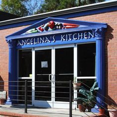 Angelina's Kitchen in Pittsboro NC. Farm Fresh Greek and New Mexican cuisine. It's like your mom's in the kitchen! And the employees are pretty cool if I say so myself!!