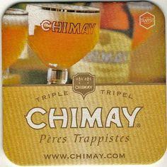 Chimay Tripel coaster - www.chimay.com