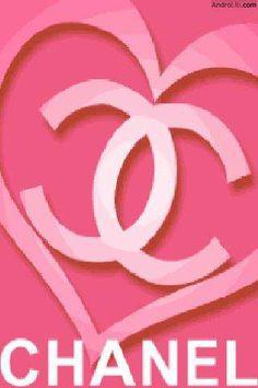 Chanel Logo | Alle beschikbare screenshots van Chanel Logo Heart Live Wallpap