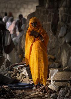 Veiled woman, Keren, Eritrea by Eric Lafforgue, via Flickr