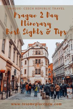 The best sightseeing guide for your trip to Prague - a day by day activities guide, with travel tips and experiences for your 2 day Prague Travel Itinerary #Prague