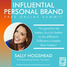 Sally Hogshead is featured in our and we are SO excited about this one! She gives great advice on how to stand apart in this noisy world to make your message more visible. Tune in and take a listen! Kevin Harrington, Miss Nevada, Building A Personal Brand, Senior Advisor, Radio Personality, Brand Strategist, Keynote Speakers, Instagram Influencer, Personal Branding