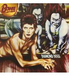 Barnes & Noble® has the best selection of Alternative Experimental Rock Vinyl LPs. Buy David Bowie's album titled Diamond Dogs [LP] to enjoy in your home David Bowie Diamond Dogs, Pop Internacional, Rock And Roll History, Nineteen Eighty Four, Greatest Album Covers, Rock & Pop, Heritage Museum, Album Cover Design, Great Albums
