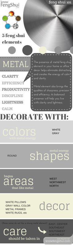 metal-feng-shui-element-decor-infographic