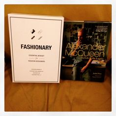 I love my wifeys. They know me so well. Love my @fashionary boxset and @worldmcqueen book @honey_may & @african_red_riding_hood. Fashion focused for 2015. #fashionary #fashiondesigner #mcqueen #book #love #wifeys ##christmas #presents #happy  oh to add I have boxset #30 out of 1000. :-D
