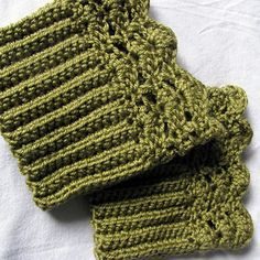 Ravelry: Belmont Boot Toppers pattern by Jenn Wolfe Kaiser