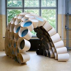 http://www.projectmodii.commodii is a parametrically designed interactive installation by students of Delft University of Technology