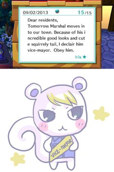 My town is definitely not a democracy. From just last week when Marshal was moving in~ Also this is my first post ever on tumblr wheezehowdo...
