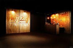 Tonic Water 1724 corner bar at Mercedes Fashion Week by Axthor, Madrid