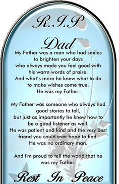 I really miss my dad today. I could use one of his big bear hugs. Love you, Big Guy!