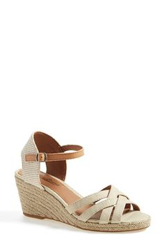 Lucky Brand 'Kalessie' Espadrille Wedge Sandal (Women) available at #Nordstrom. $68.95