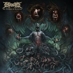 Ingested - The Architect of Extinction (2015)  Brutal Death Metal / Deathcore band from UK  #Ingested #DeathMetal #Deathcore