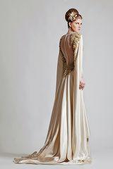 La fille au chignon | krikor jabotian haute couture 2013
