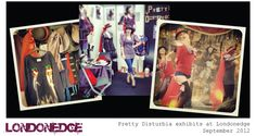 Pretty Disturbia | designer clothing for women | press and gallery LONDONEDGE FASHION SHOW ALTERNATIVE CLOTHING