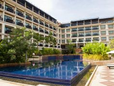Siem Reap Luxury Hotels - Angkor Miracle Resort & Spa Siem Reap - Cambodia Siem Reap, Angkor, Resort Spa, Cambodia, Mansions, House Styles, Outdoor Decor