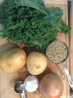 Kale potato slow cooker ingredients raw