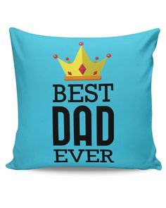 Best Dad Ever King's Crown | Father's Day Cushion Cover