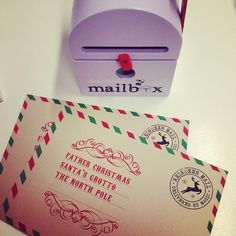 Christmas Wish List's are being posted already! Online- and while you're there- Check out our gorgeous little mail boxes - great Xmas idea for your creative little ones. http://ift.tt/1MikKMQ #shop3280 #warrnambool #shoplocal #mailbox #santa #santaslittlehelper #xmasgiftidea #xmas by loveleelittleones