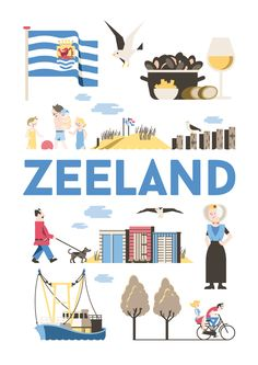 """Zeeland is the westernmost province of the Netherlands. The province, located in the south-west of the country, consists of a number of islands and peninsulas (hence its name, meaning """"sea-land"""") and a strip bordering Belgium. Its capital is Middelburg."""