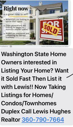 Guy Stuff, Washington State, Real Estate, Things To Sell, Motivation, Real Estates, Inspiration