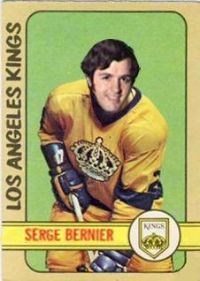 1972-73 Serge bernier Hockey Cards, Baseball Cards, Pro Hockey, Hockey Stuff, La Kings Hockey, New York Islanders, Los Angeles Kings, National Hockey League, New York Rangers