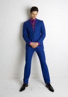 The Electric Blue Suit! | wedding stuff | Pinterest | Electric ...