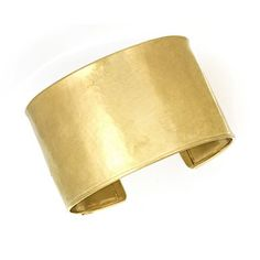 18k Yellow Gold 37mm Textured Cuff Bangle - 7 Inch. Fine jewelry is authenticated with manufacturer metal stamp. Unconditional 45 day Full Money Back Guarantee and Two Year Free Repair Policy. Comes with a beautiful jewelry gift box ready for any gift giving occasion.