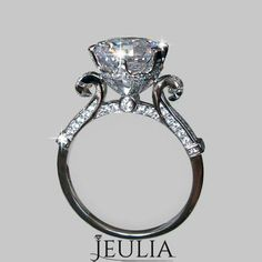 PERFECT wedding ring add a ruby or two and a engagement band