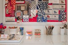 Rosa Beltran Design {Blog}: Metal Magnetic Bulletin Board DIY