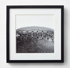 RH TEEN's Vintage Sports Gear Photography - Football:High-contrast black-and-white images of vintage sports gear