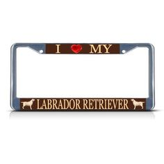 Get your driver's attitude or cause across on this cool License Plate Frame made of sturdy heavy metal and personalized with full color printed message. These rugged license plate