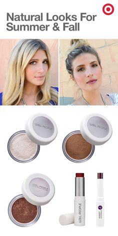 To take her look from summer to fall, @mrkate keeps things easy by highlighting her natural beauty. In her latest how-to, she focuses on organic products like W3ll People's Elitist 825 Mineral Eye Shadow in Golden Mocha to build warm, smoky eyes. For more color, she uses the W3ll People's Universalist Colorstick in Creamy Crimson on the apples of her cheeks with the Nudist Colorbalm in Nudist 2 for a sheer berry lip. Recreate Mr. Kate's look: https://www.youtube.com/watch?v=5NEmAtCyF9g