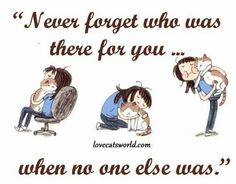 They are part of your family but you are their only family x