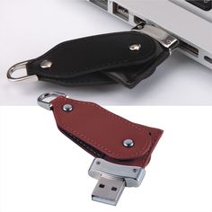 Customized this sleek leather USB flash drive Flipper with your company logo and you'll get the perfect corporate gift! Wholesale by MemoTrek - http://www.memotrek.com/usb-flash-drives-leather-flipper