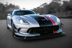 Many companies build street cars that you can take on the track. The 2016 Dodge Viper ACR is the exact opposite: a track car you can drive on the roads. The fastest street-legal Viper ever, it's powered by a handcrafted...