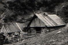 Koliba na Prostrednom z boku - fotoarchiv:Ján Zaťko - nedatované