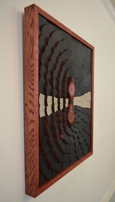 Wood art THE TROJAN QUASAR 25x19