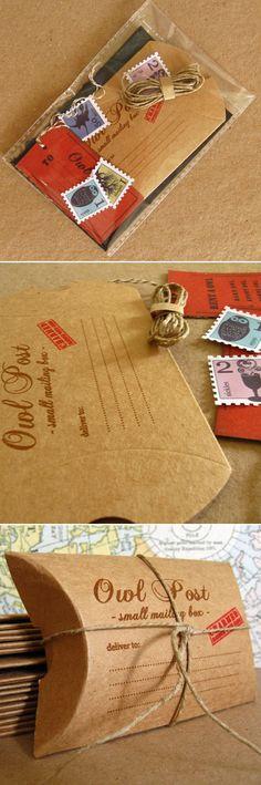 Owl Post! / Celestefrittata Bottega on etsy via paper crave