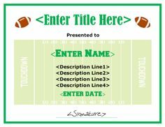Football certificate template free certificate templates blank sample professional certificate templates ideas for the house yelopaper Choice Image
