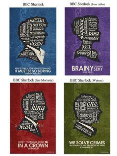 BBC Sherlock Quote Poster - New