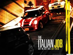 The Italian Job.just watched this ans it renewed my desire to own a mini The Italian Job, Movies Showing, Getting Out, Movie Quotes, I Movie, Cinema, Mini Coopers, Box Office, Nerd Stuff