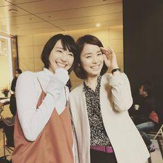 『逃げ恥』石田ゆり子と新垣結衣の2ショット! 舞台裏の笑顔に絶賛の声