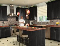 kitchen designs   cabinet style color glaze hardware and glass doors appliances oven ...